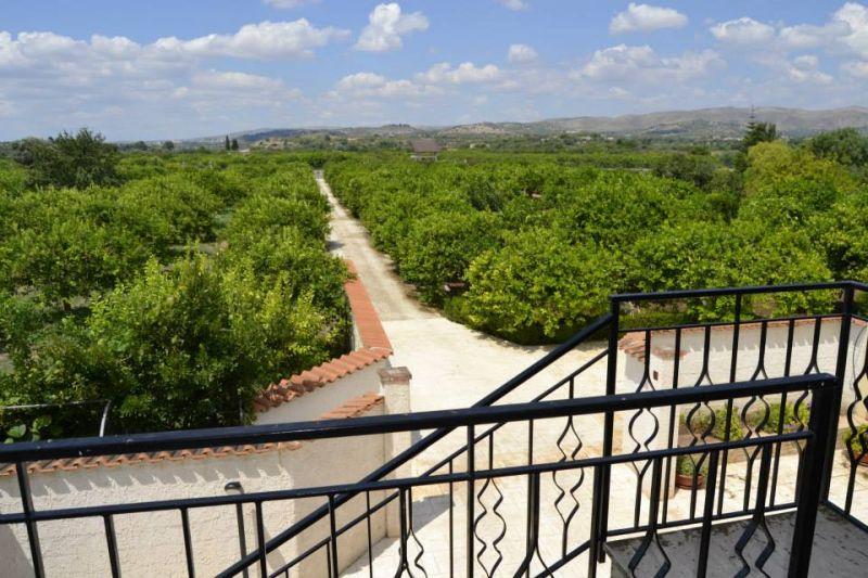 Vue de la terrasse Location Villa 16606 Noto