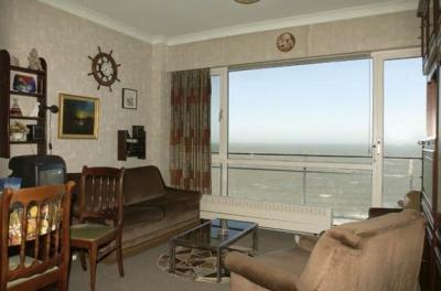 Vue depuis la location Location Studio 16612 Ostende