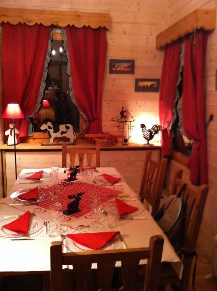 Salle à manger Location Appartement 17117 Valmorel