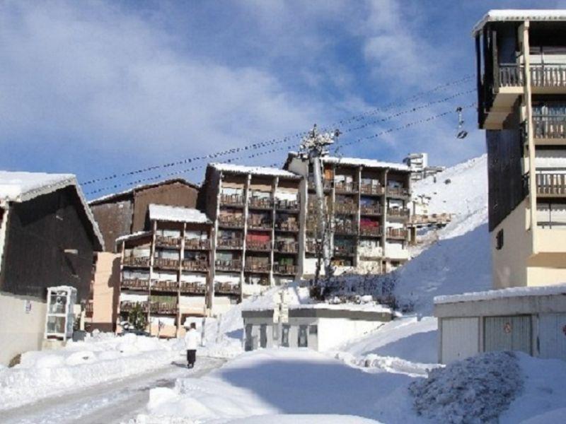 Vue extérieure de la location Location Appartement 1723 Les Menuires