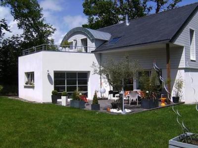 Vue de la terrasse Location Villa 17327 Benodet