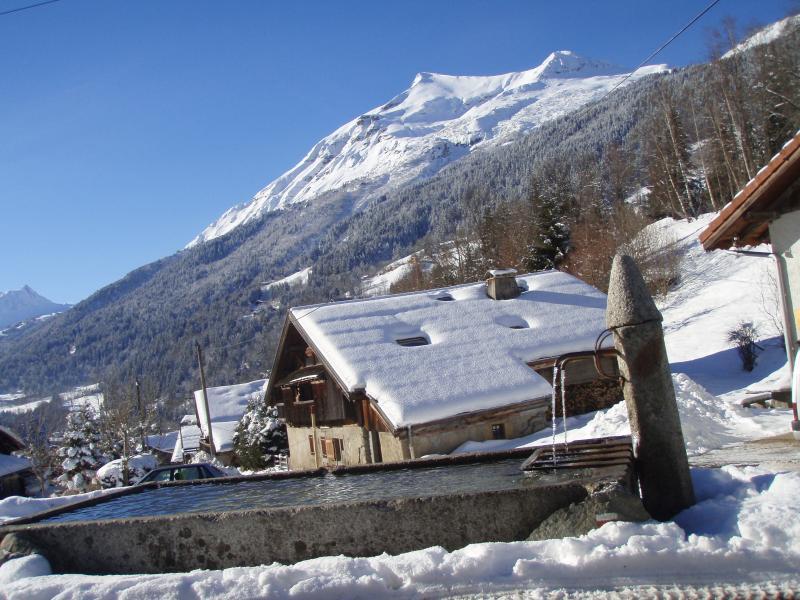 Vue extérieure de la location Location Appartement 18013 Saint Gervais Mont-Blanc