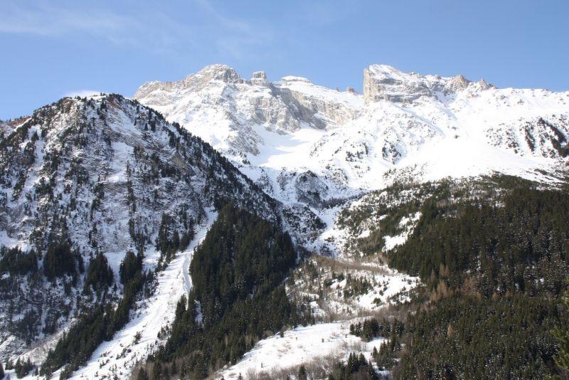 Vue de la terrasse Location Appartement 18251 Pralognan la Vanoise