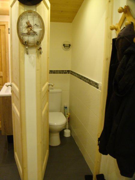 WC séparé Location Appartement 1837 Méribel