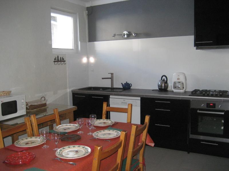 Cuisine indépendante Location Appartement 1872 Montgenevre