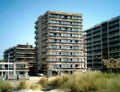 Vue ext�rieure de la location Location Appartement 18939 La Panne