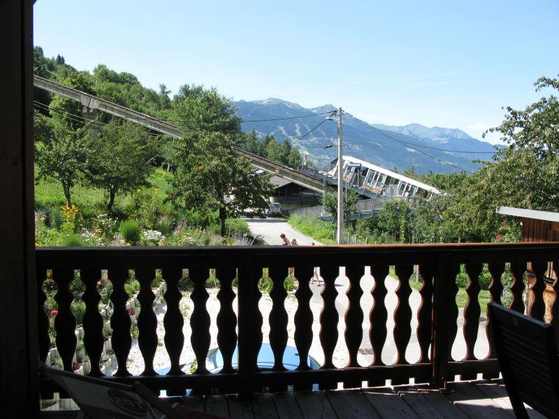 Vue du balcon Location Appartement 191 Les Arcs