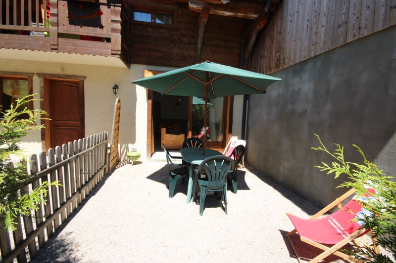 Terrasse Location Appartement 1947 Morzine