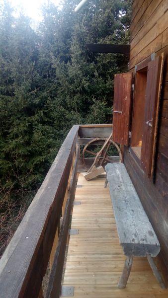 Vue du balcon Location Chalet 19543 Les Contamines Montjoie
