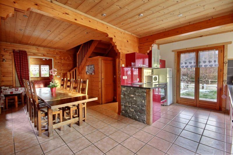 Salle à manger Location Chalet 1962 Morzine