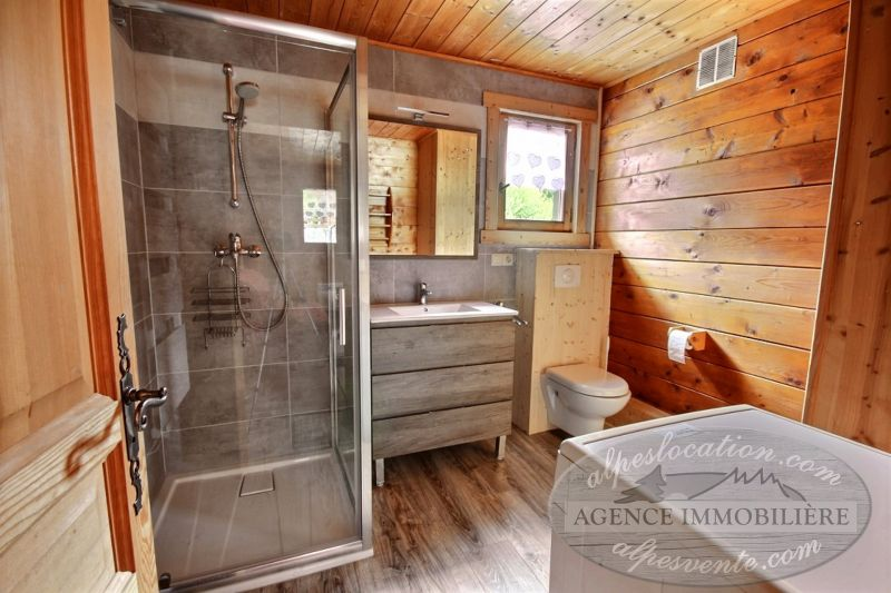 salle de bain 2 Location Chalet 1962 Morzine