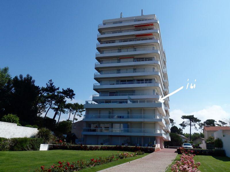 Vue extérieure de la location Location Appartement 20450 Royan