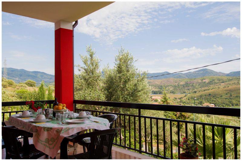 Vue de la terrasse Location Villa 20490 Ascea
