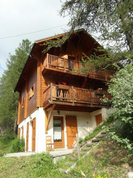 Vue extérieure de la location Location Chalet 2091 Les Orres