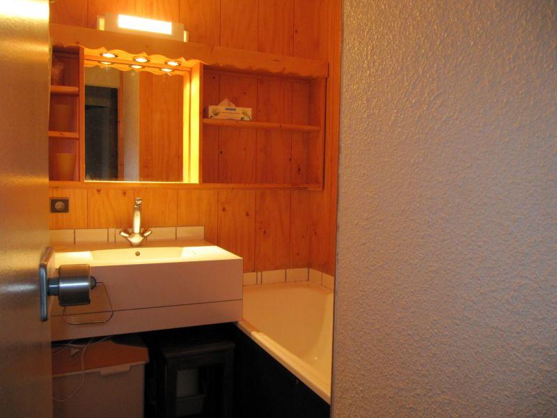 salle de bain Location Studio 2120 La Plagne