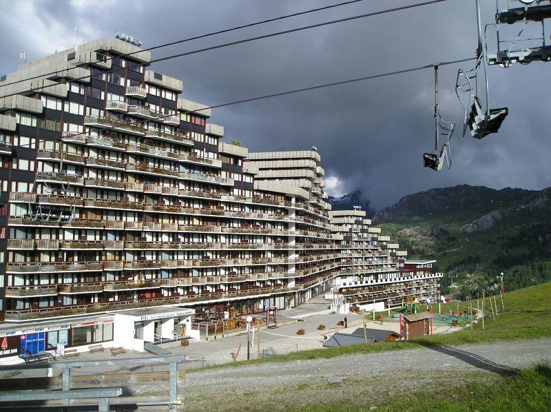 Vue extérieure de la location Location Appartement 2146 La Plagne