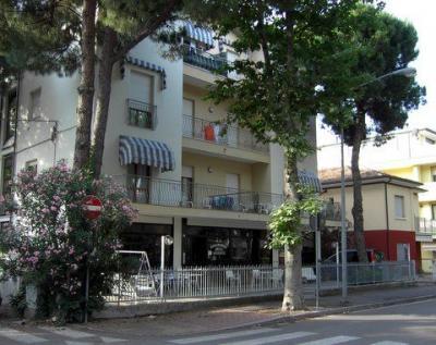 Vue ext�rieure de la location Location Appartement 21770 Rimini