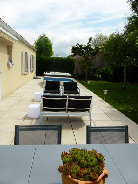Vue de la terrasse Location Maison 22071 Royan