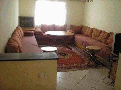 Salon Location Appartement 22477 Agadir