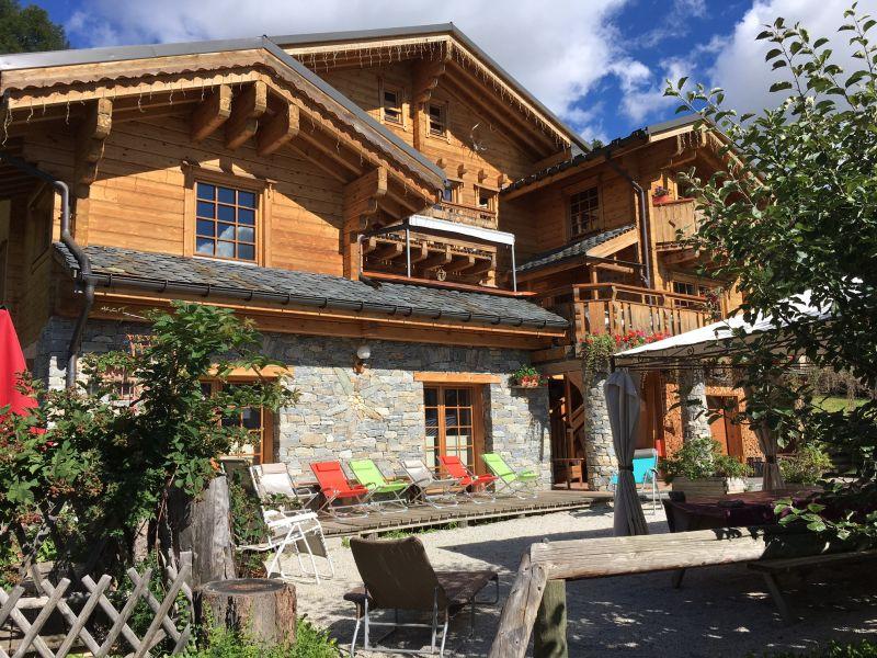 Vue extérieure de la location Location Chalet 2248 La Plagne
