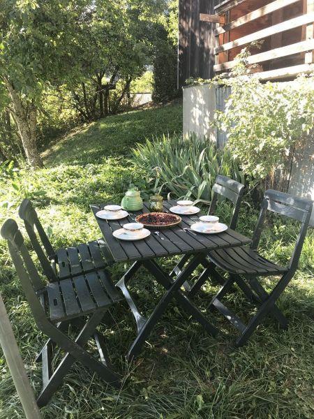 Jardin Location Chalet 2301 Praz sur Arly