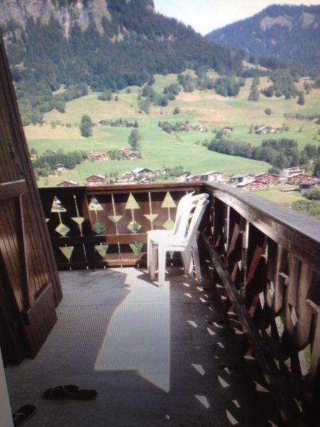 Vue du balcon Location Appartement 2311 Praz sur Arly