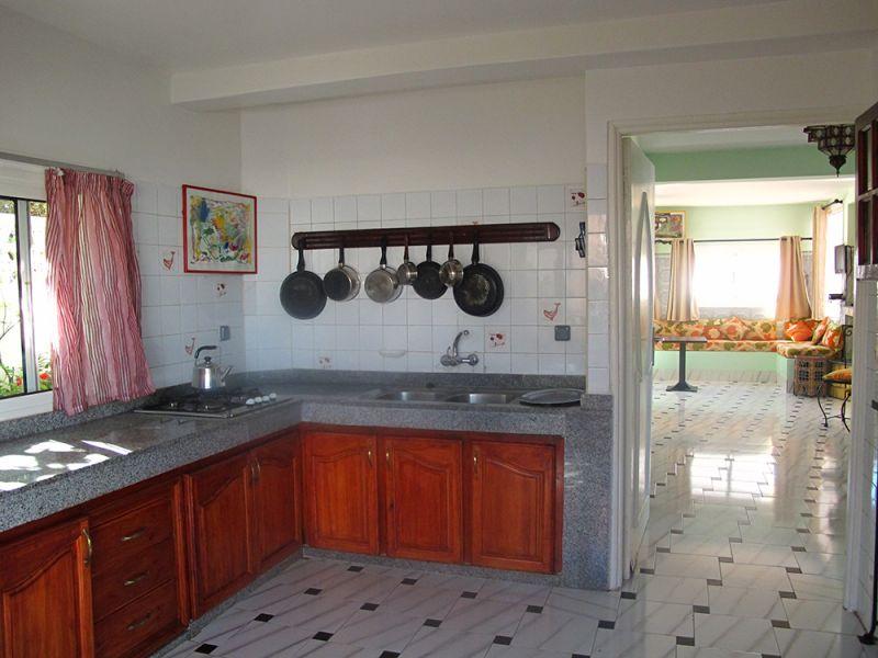 Cuisine d'été Location Villa 23490 Oualidia