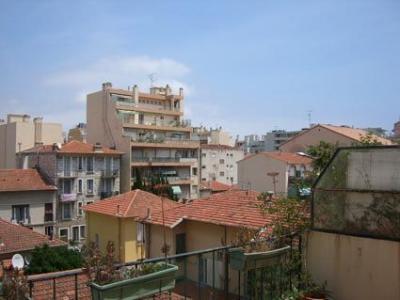 Vue de la terrasse Location Appartement 23644 Nice