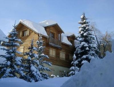 Vue ext�rieure de la location Location Appartement 2394 Puy Saint Vincent