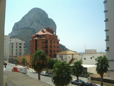 Vue de la terrasse Location Appartement 24030 Calpe