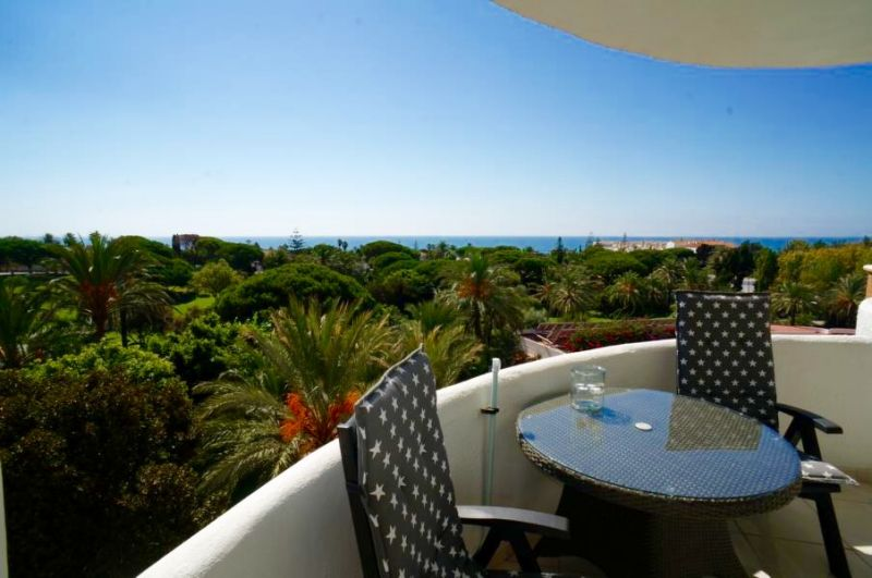 Vue du balcon Location Appartement 24206 Marbella