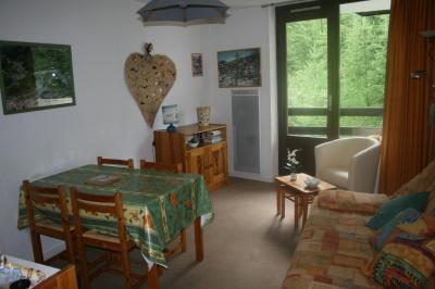 Vue du balcon Location Studio 2426 Risoul 1850