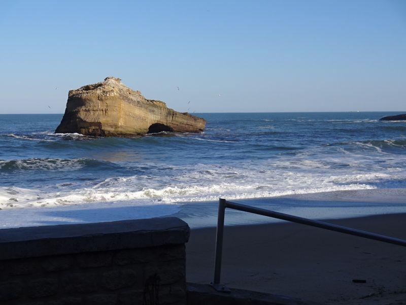 Vue extérieure de la location Location Appartement 24484 Biarritz