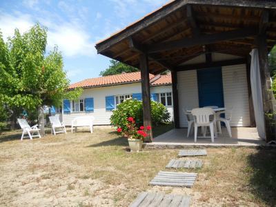 Vue ext�rieure de la location Location Maison 24503 Mimizan