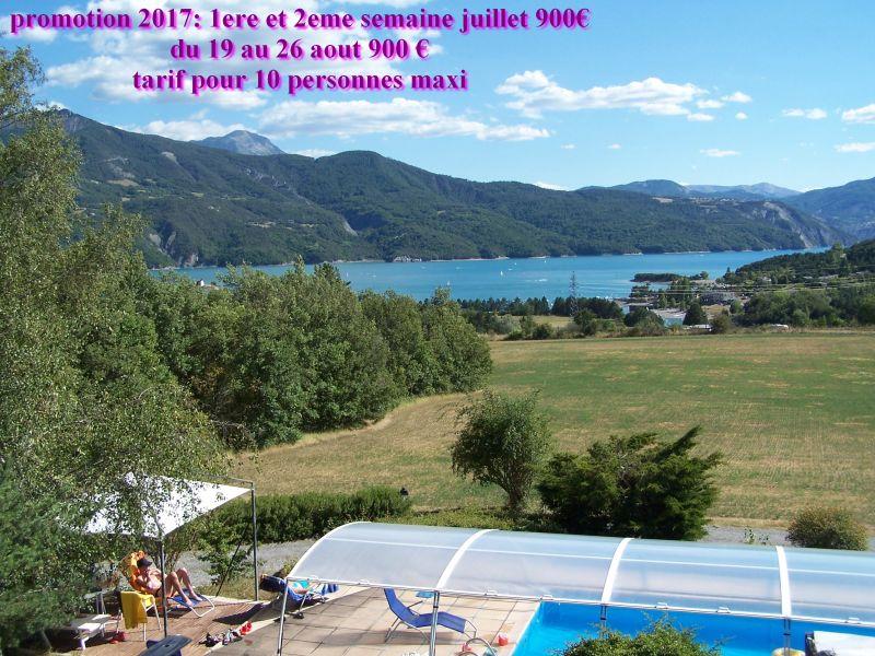 Piscine Location Chalet 2488 Réallon