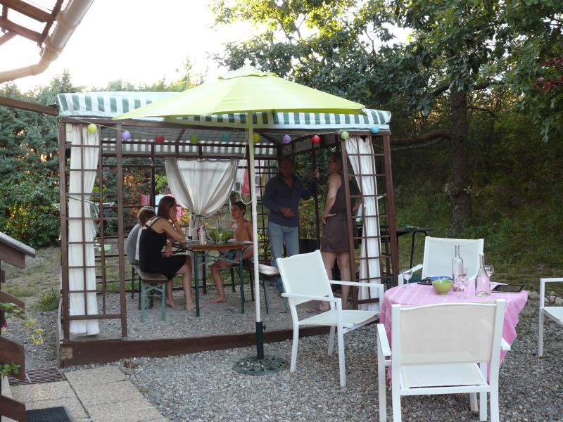 Cuisine d'été Location Chalet 2488 Réallon