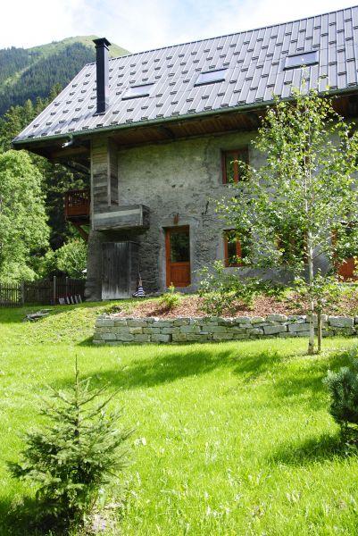 Jardin Location Chalet 2501 Saint Jean d'Arves