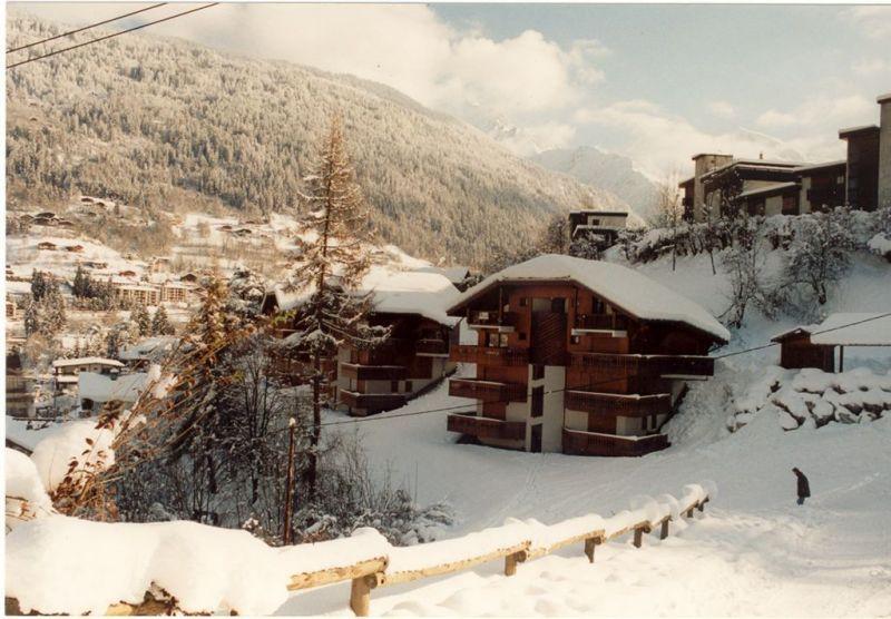 Vue extérieure de la location Location Studio 2546 Saint Gervais Mont-Blanc