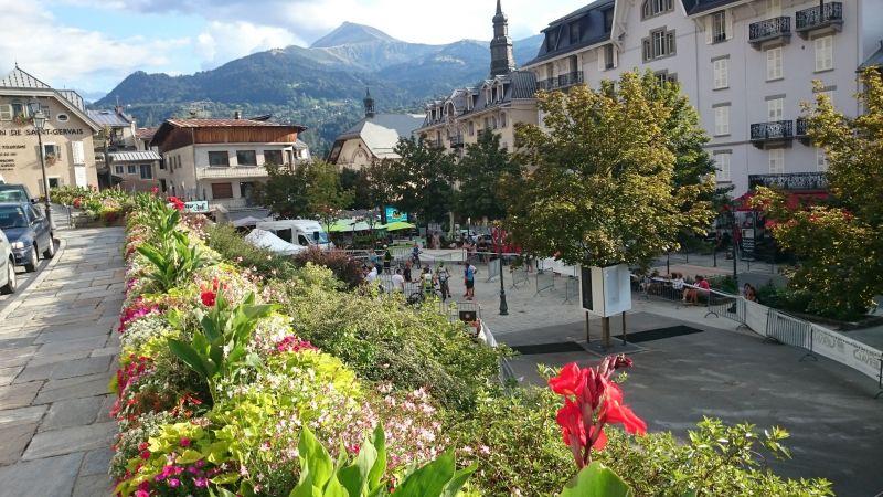 Vue à proximité Location Studio 2546 Saint Gervais Mont-Blanc