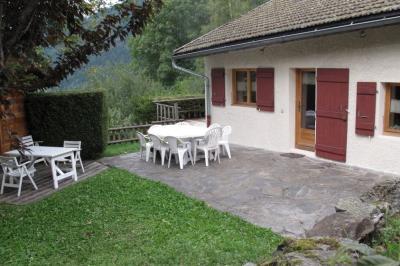 Vue ext�rieure de la location Location Chalet 2547 Saint Gervais Mont-Blanc