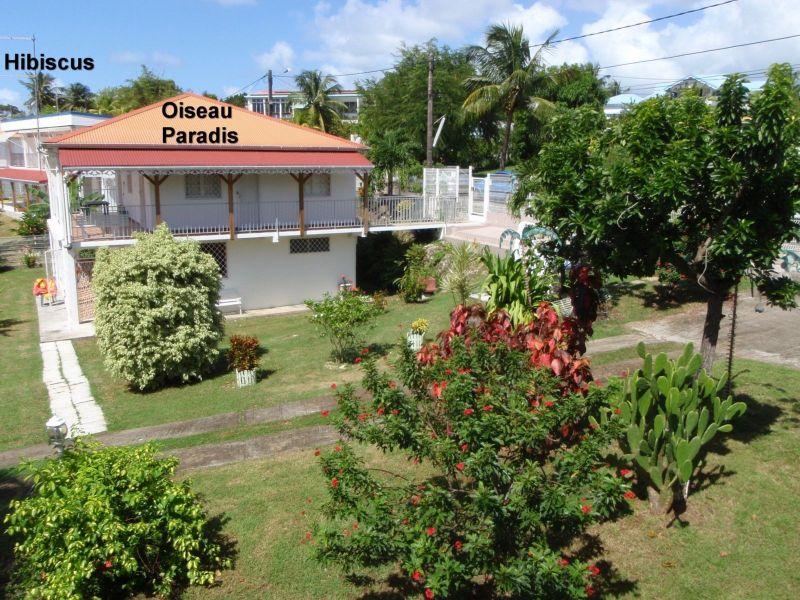 Vue extérieure de la location Location Appartement 25506 Gosier (Guadeloupe)