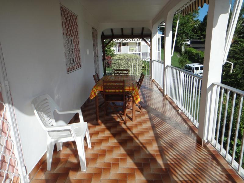 Vue du balcon Location Appartement 25506 Gosier (Guadeloupe)