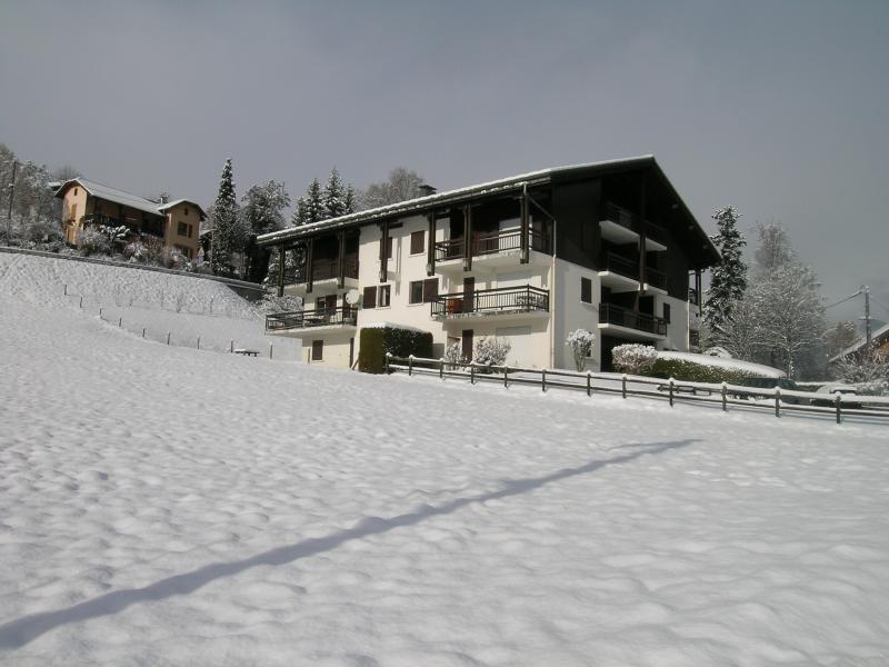 Vue extérieure de la location Location Appartement 2553 Saint Gervais Mont-Blanc