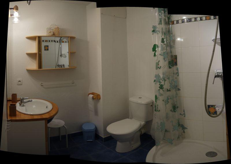 salle de bain 1 Location Appartement 2560 Saint Gervais Mont-Blanc