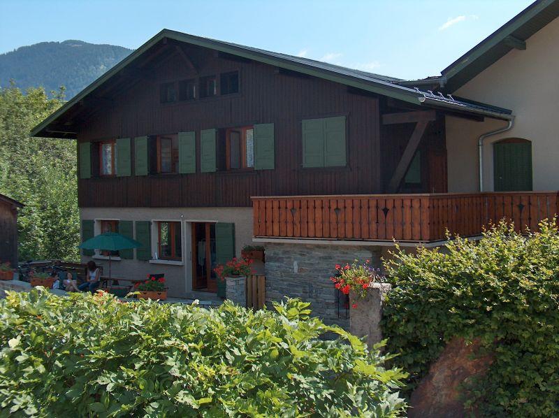Vue extérieure de la location Location Appartement 2560 Saint Gervais Mont-Blanc
