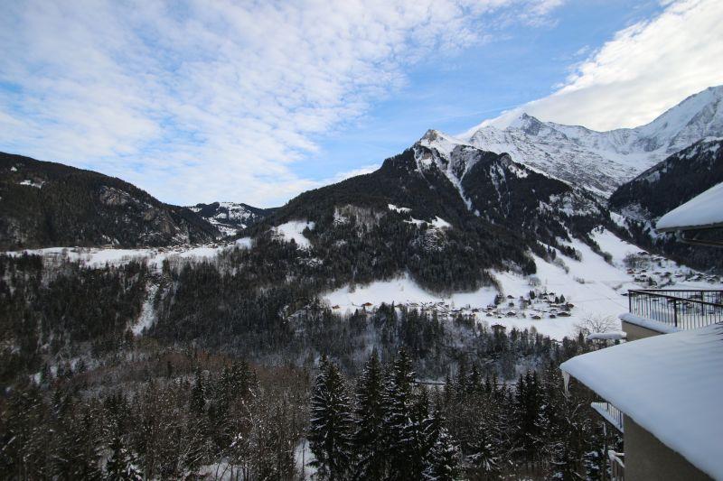 Vue depuis la location Location Appartement 2560 Saint Gervais Mont-Blanc