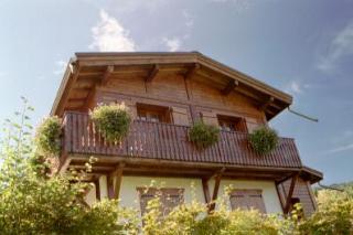 Vue extérieure de la location Location Chalet 2572 Saint Gervais Mont-Blanc