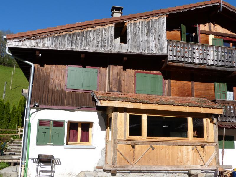 Vue extérieure de la location Location Appartement 2577 Saint-Gervais-les-Bains