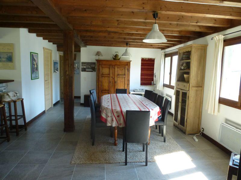 Salle à manger Location Chalet 2585 Saint Gervais Mont-Blanc