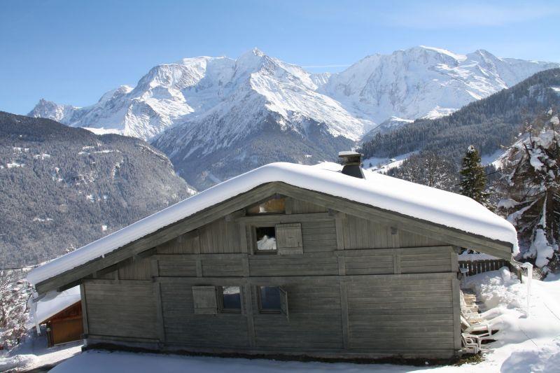 Vue extérieure de la location Location Chalet 2585 Saint Gervais Mont-Blanc